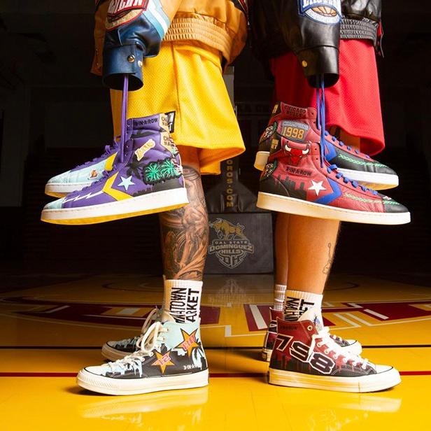 向湖人致敬!匡威 X Chinatown Market 打造NBA系列鞋款