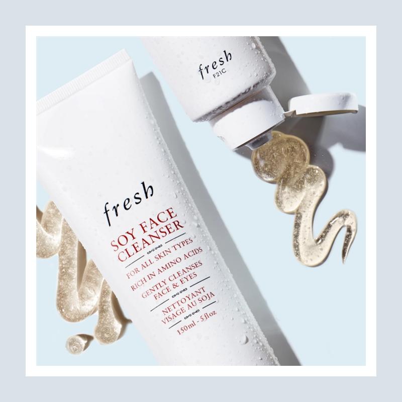 舒缓保湿温和卸妆洁面!Fresh 馥蕾诗大豆卸妆洁面凝露#150ml