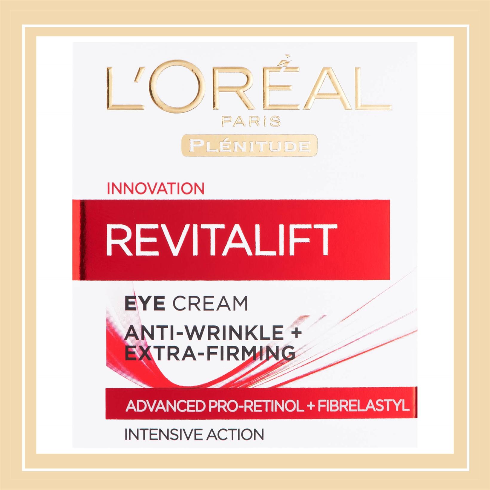 眼霜性价比之王:L'Oreal 欧莱雅复颜视黄醇精粹抗皱眼霜