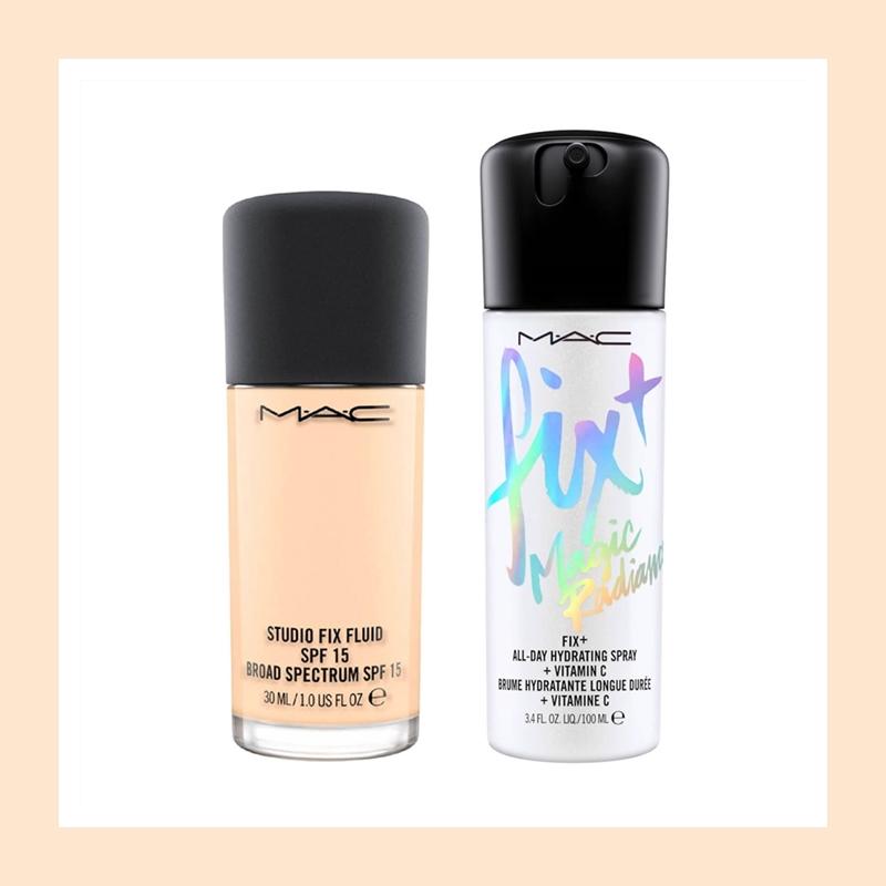 打造你的超完美奶油底妆!M.A.C 魅可定制无瑕粉底液定妆喷雾套装
