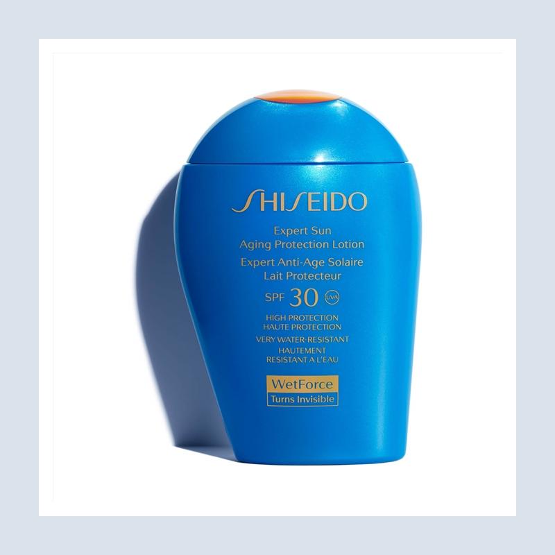 防晒界的大哥大考虑一下?Shiseido 资生堂蓝胖子防晒乳液SPF30#100ml