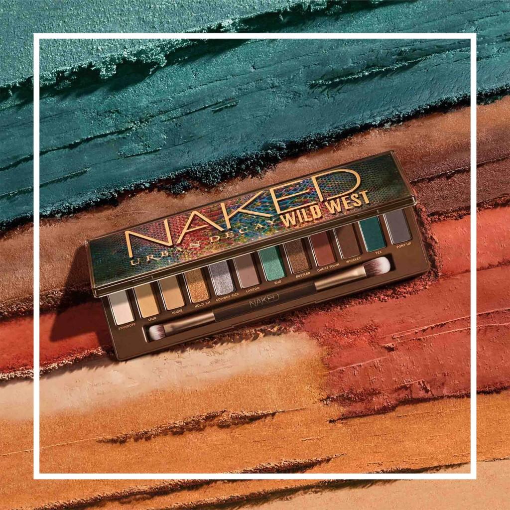 将日常和高调惊艳感一网打尽!Urban Decay 新品眼影盘#Wild West