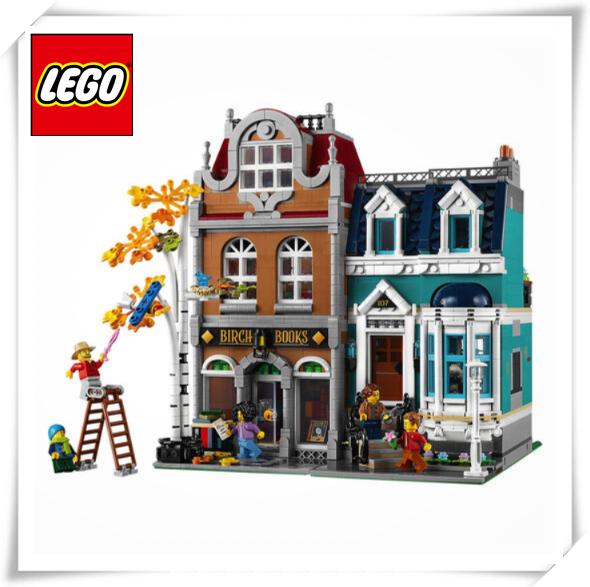街角那头的书店~玩乐高Lego打造属于你的小小天地!