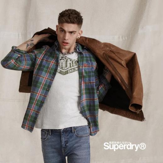 年轻人的时尚Superdry