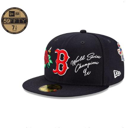 Neweracap 美国职业棒球大联盟mlb系列 59fifty新款鸭舌帽