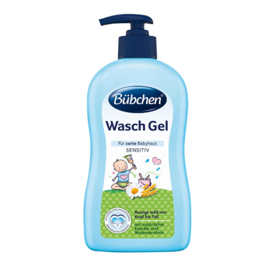 Bübchen婴幼儿全身洗护沐浴液400ml