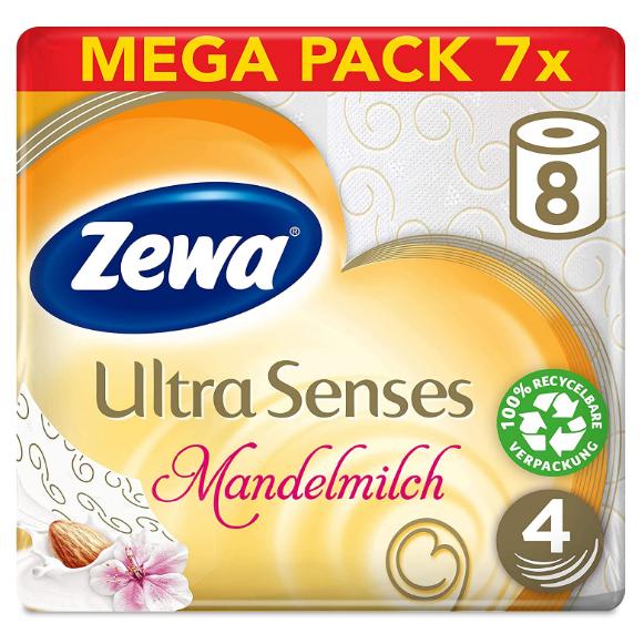 Zewa Ultra Senses 7×8卷装大包厕纸