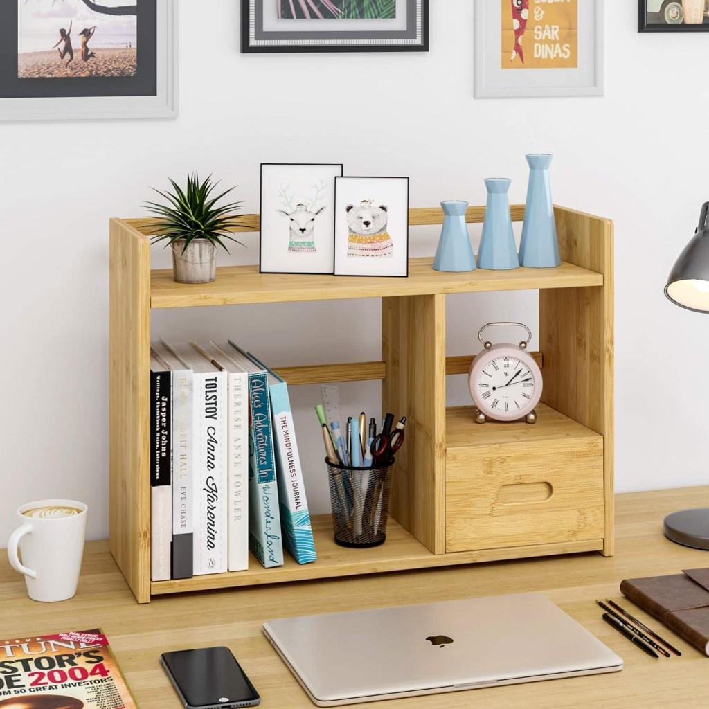 办公桌收纳架~清新北欧风,轻松收纳桌上小物!
