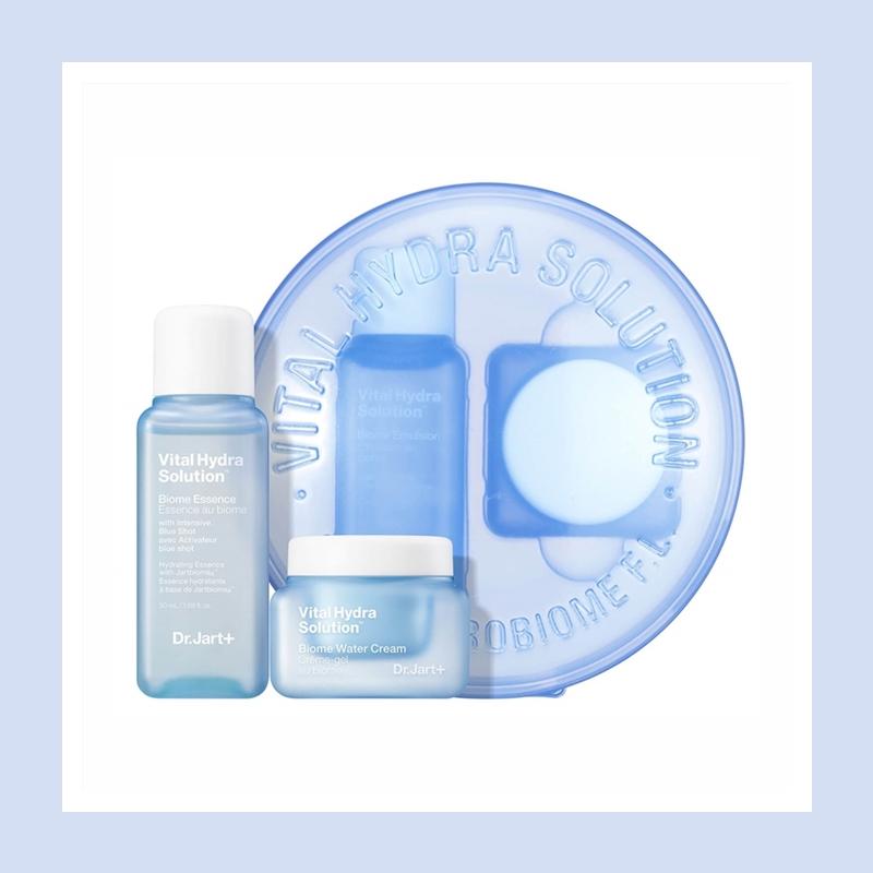深层补水并改善肌肤锁水机能!Dr.Jart+ 蒂佳婷蓝丸补水控油舒缓套装