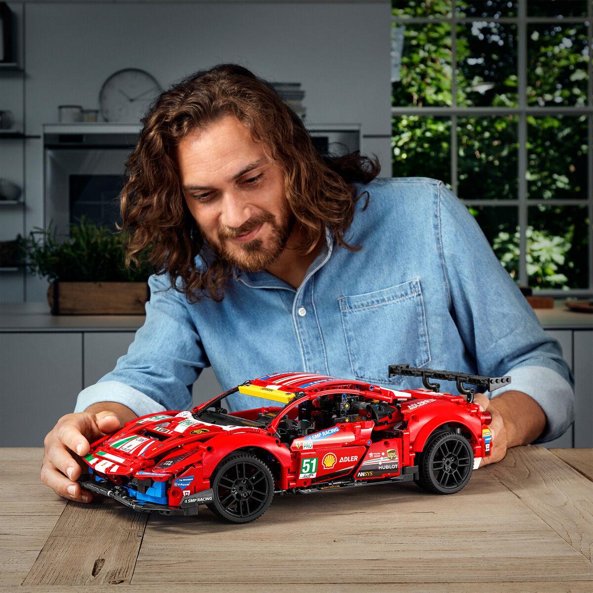 沉浸于激动人心的汽车耐力赛 Lego乐高法拉利赛车42125