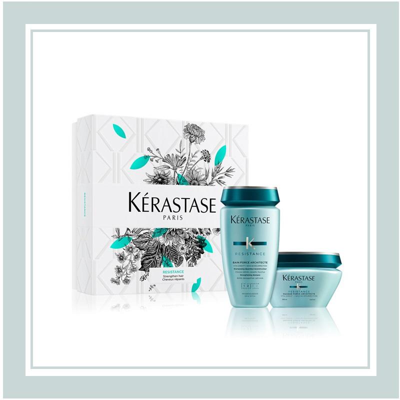 修护受损发丝,使秀发焕然新生!Kérastase/卡诗 修护系列氨基酸柔顺套装