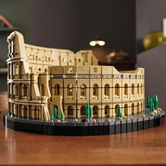 """上百个拱门的无尽重复拼搭?LEGO乐高史上最大套装""""罗马斗兽场"""""""