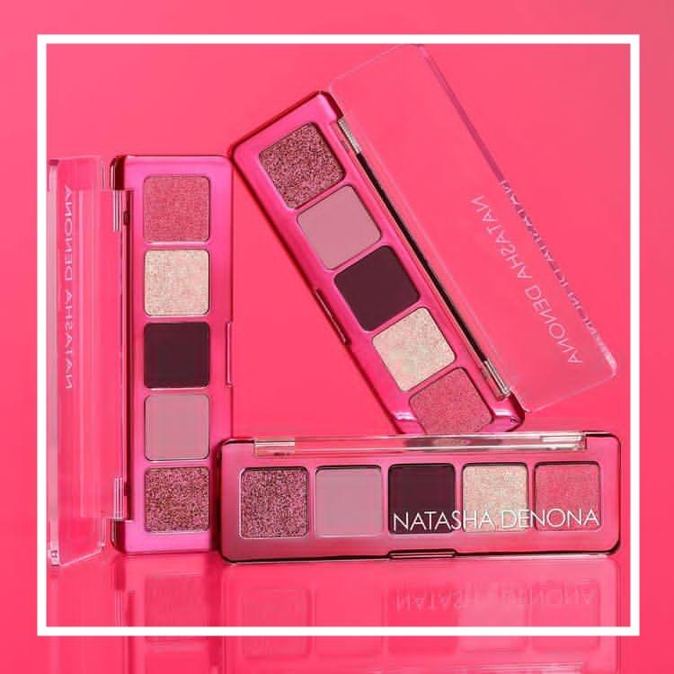 打造你的春日限定妆!Natasha Denona 新品五色迷你眼影盘#Mini Love