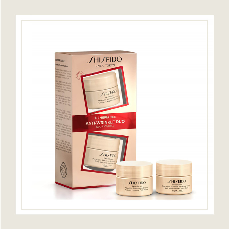 Shiseido/资生堂 盼丽风姿智感抚痕日霜&晚霜套装