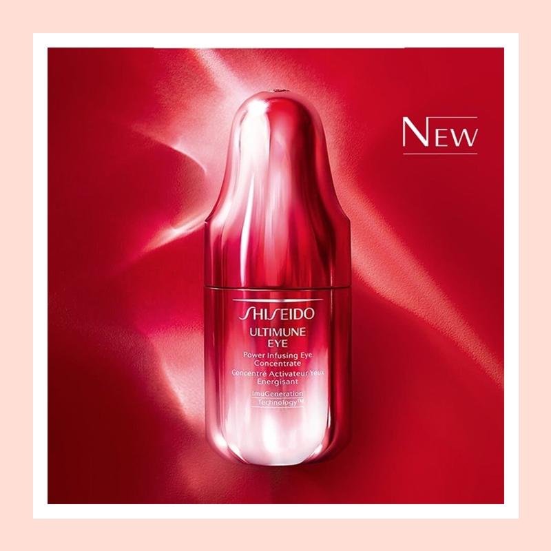 淡纹滋润强韧修护眼周肌肤!Shiseido 资生堂新红妍肌活眼部精华露#15ml