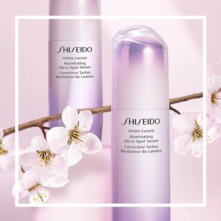 第七代樱花调色精华!Shiseido 资生堂美白精华光透耀白焕颜精华#30ml