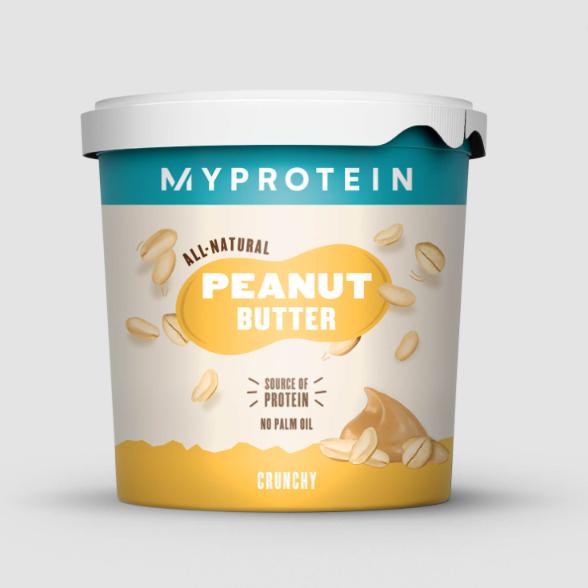 纯天然花生酱~Myprotein带给你绝对美味的早餐!
