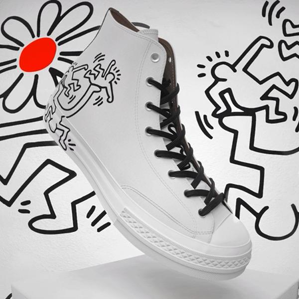 Converse匡威 x 波普艺术家Keith Haring联名!