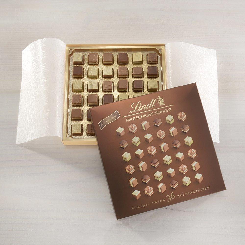 像艺术品一样漂亮精巧!Lindt瑞士莲迷你软心巧克力36粒礼盒装