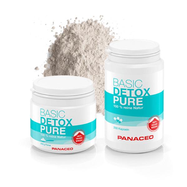 来给你的肠胃洗个澡吧!PANACEO火山沸石排毒胶囊