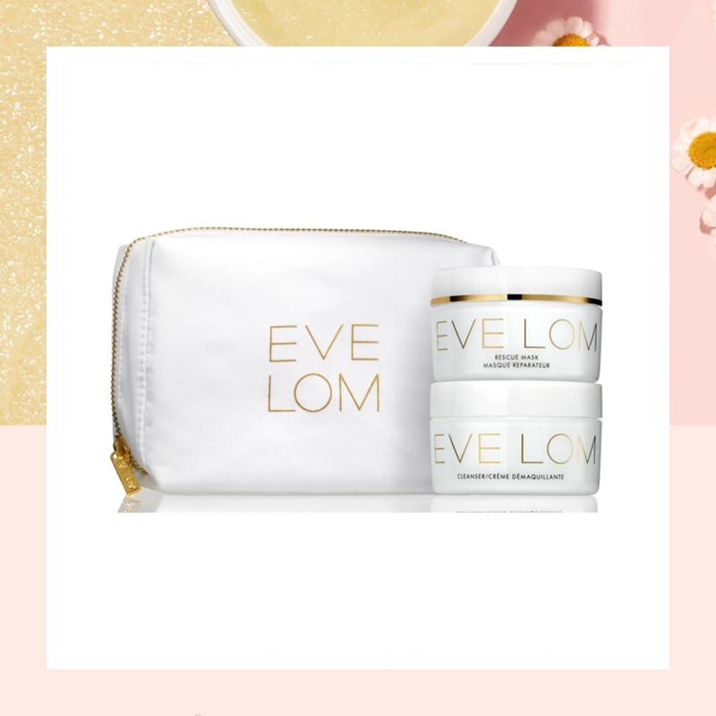 肌肤清洁急救一套搞定!Eve Lom 经典卸妆膏急救面膜奢华套装