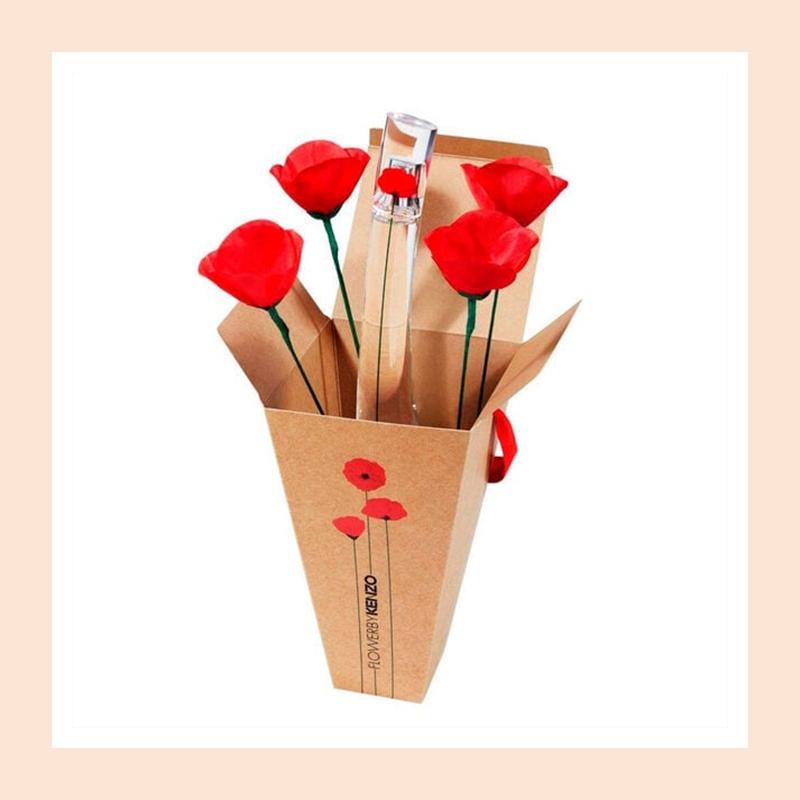 一嗅倾心难以释怀的一捧花!Kenzo 花样年华香水/一枝花#50ml礼盒装