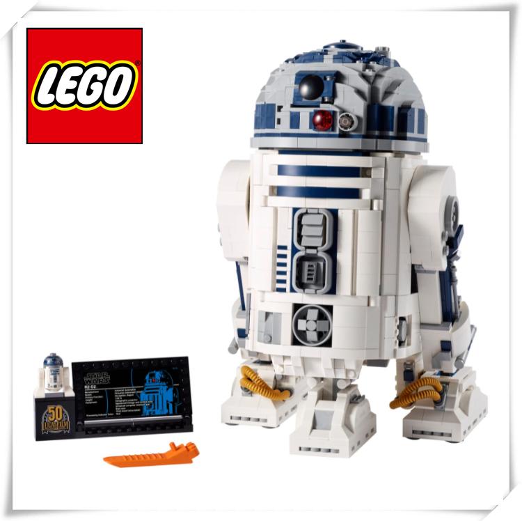 星战迷的新玩具!Lego乐高星球大战R2-D2机器人