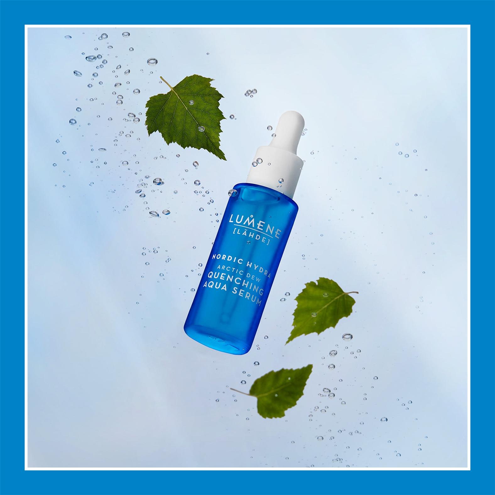 夏季保湿做得好,肌肤更亮白还能防出油!Lumene/优姿婷 补水保湿面部精华液30ml装