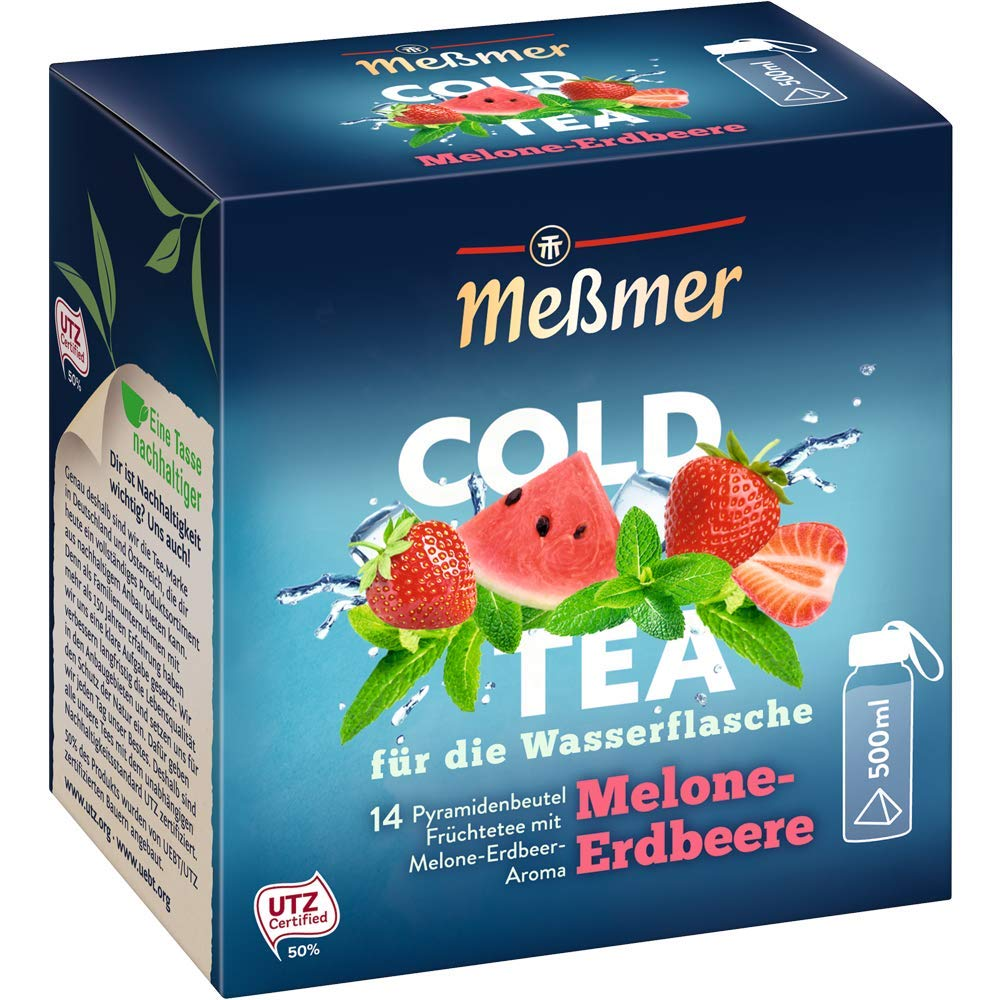 享受花果茶的清甜~Meßmer冷茶花果茶茶包