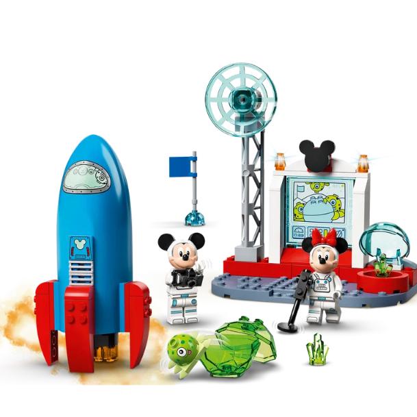送小朋友的绝佳礼物!Lego玩具模型米奇米妮太空飞行舱