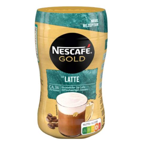 NESCAFÉ GOLD拿铁型冲泡咖啡