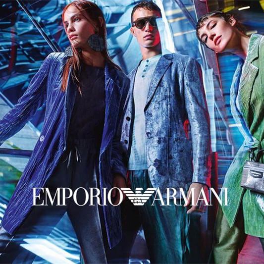 阿玛尼设计的灵魂 Emporio Armani男女服饰配饰专场