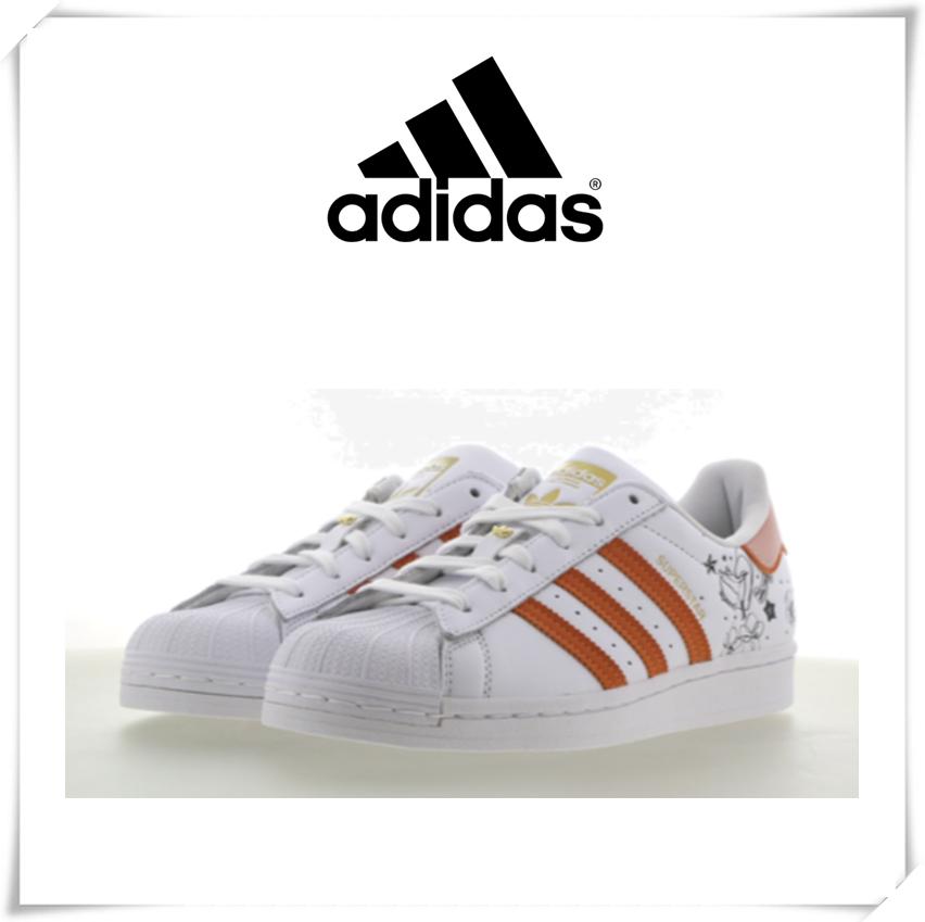 adidas Superstar贝壳鞋三道杠,经典必备款!