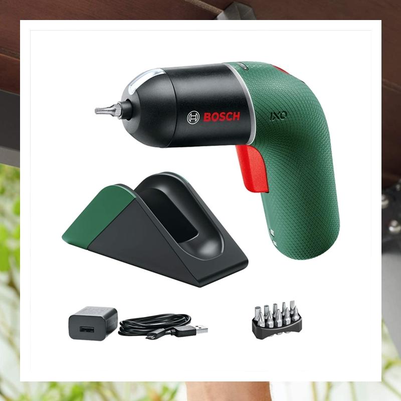 搬家装修最不能缺少的利器!Bosch 博世手持电动螺丝刀套装