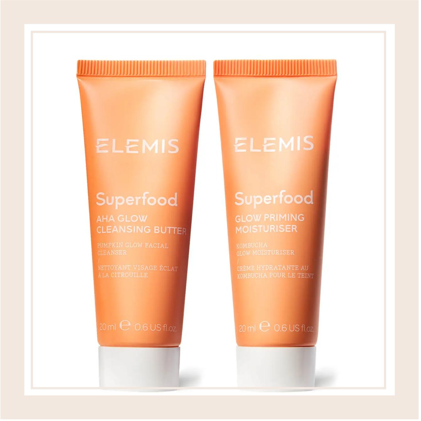 又是一只大肥羊!ELEMIS/艾丽美 食物滋养系列肌肤焕亮套装