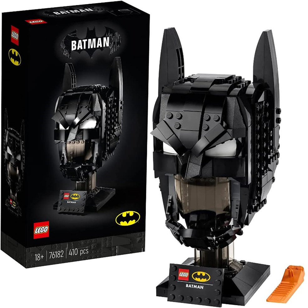 欢迎来到哥谭市~LEGO乐高76182蝙蝠侠头盔