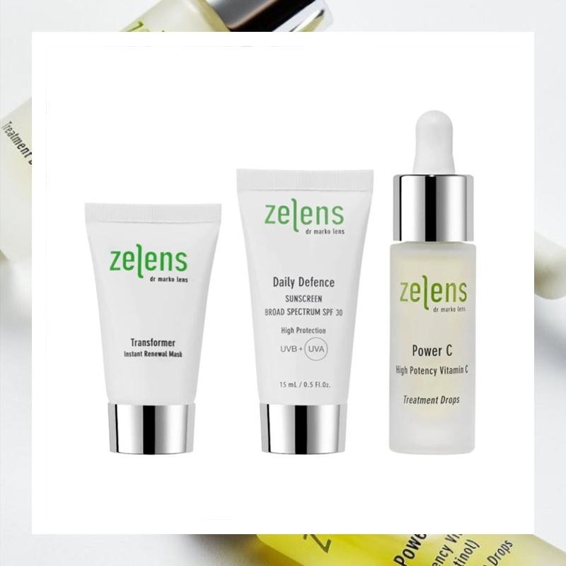 补水保湿做好早C护肤!Zelens 高效维生素C亮白精华油套装
