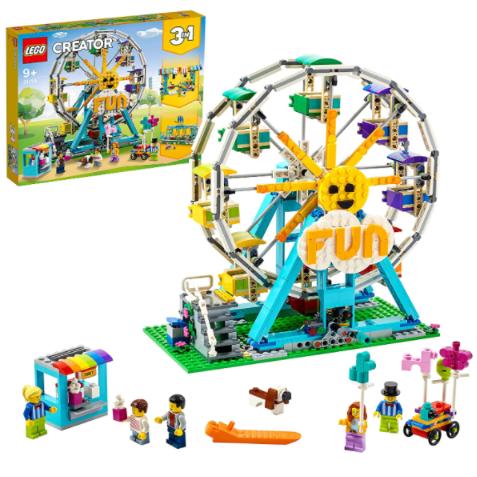 搭建梦想中的乐园~LEGO乐高摩天轮玩具模型