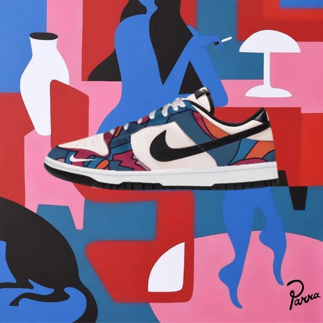 标志性的抽象图样注入!Parra x Nike SB Dunk Low联名!