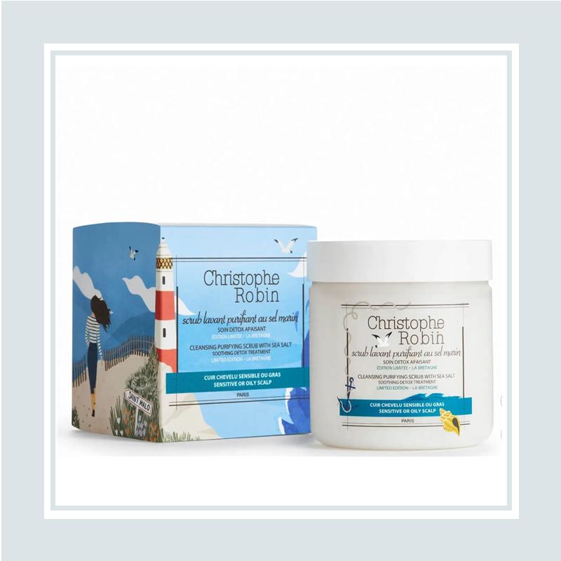 全新限定包装来了!Christophe Robin 巨星产品 海盐洗发膏 #250ml