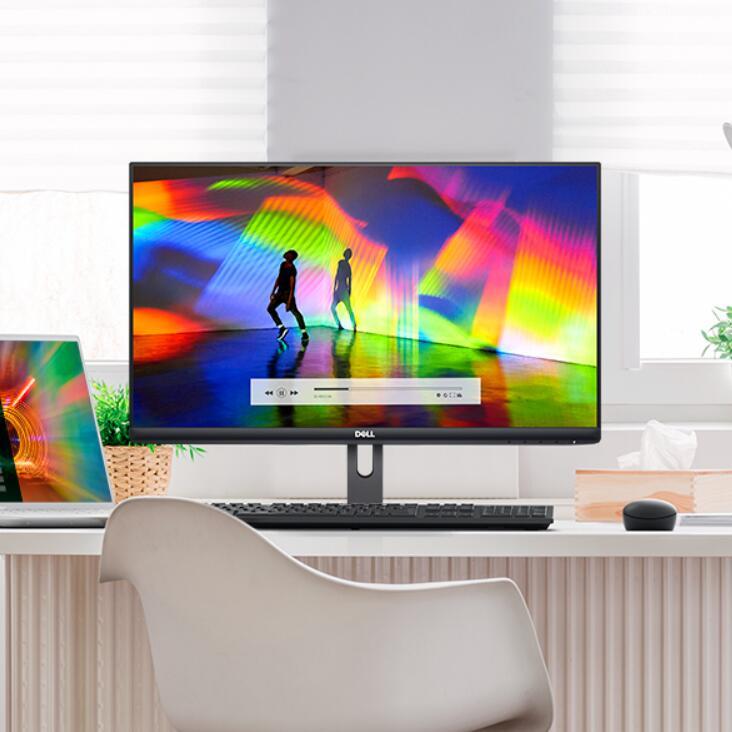 清晰视野,绚丽色彩,还有护眼功能!Dell戴尔S2721NX显示屏