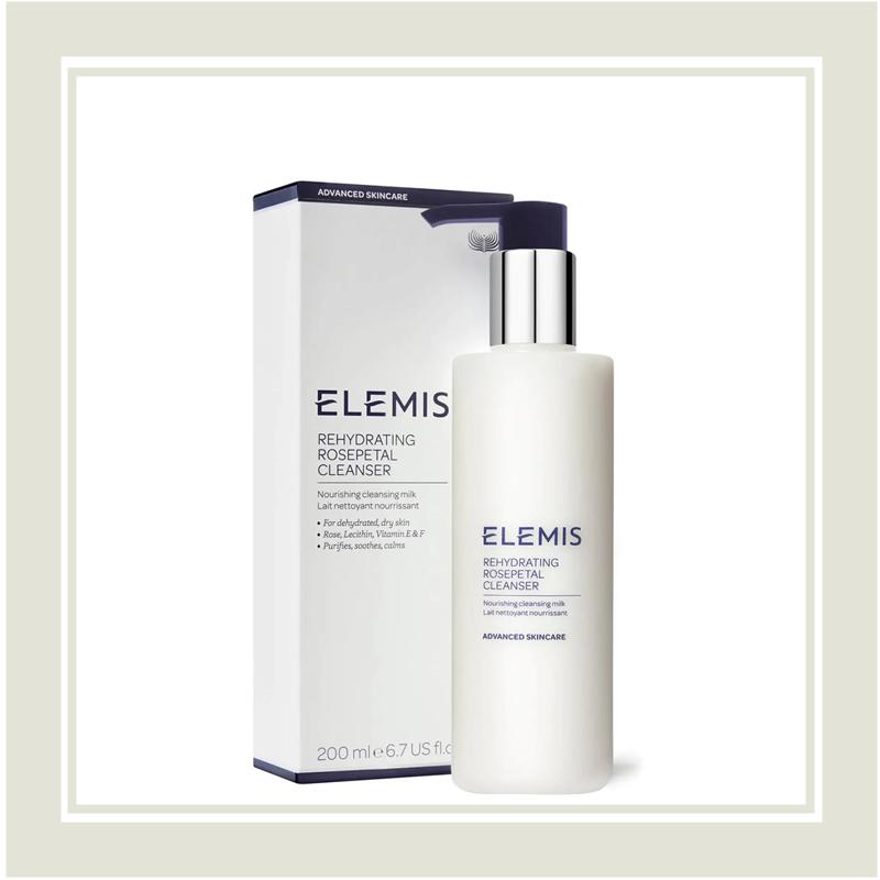 喜欢玫瑰卸妆膏的不要错过这款!Elemis 玫瑰滋养温和洁面乳 #400ml