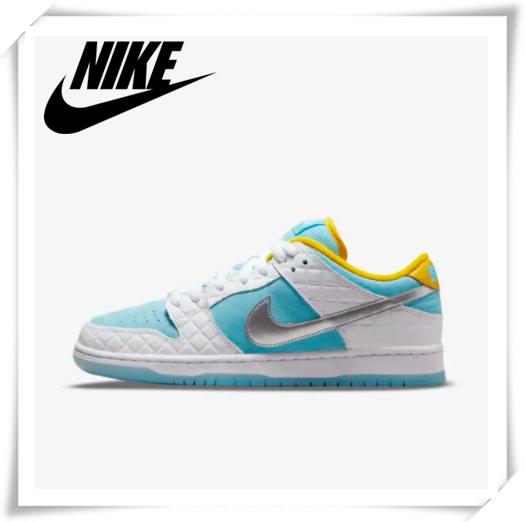 水蓝色的清新和柠檬黄的活力!Nike新款球鞋SB Dunk Low Pro