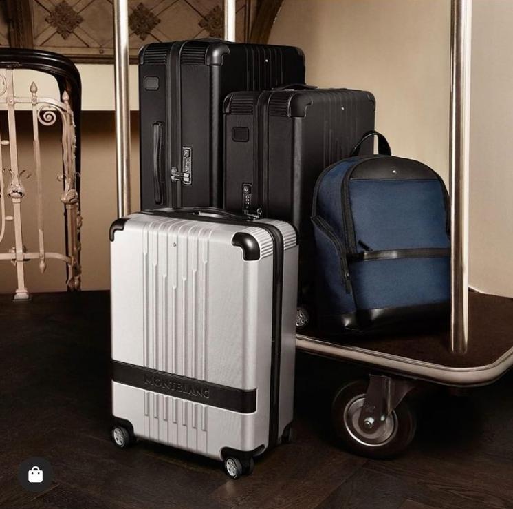 从长途商务旅行到短途度假之旅,皆能自在应对。Montblanc万宝龙旅行用品,七夕满额送礼!