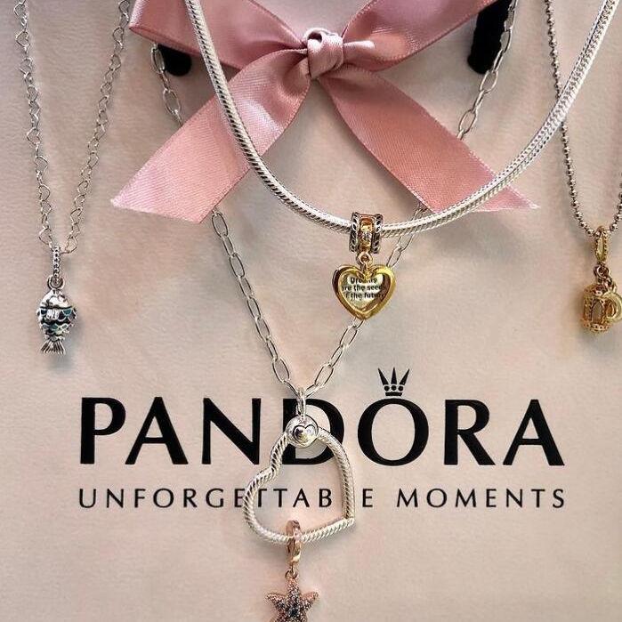 打开神秘宝盒Pandora,每天都有新组合~ Pandora潘多拉首饰