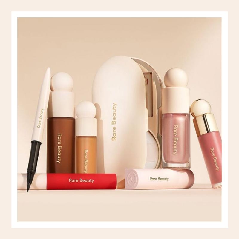 赛琳娜·戈麦斯的自创品牌终于上线!Rare Beauty 彩妆全线