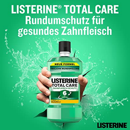 每天漱漱口龋齿都没有!Listerine 李施德林牙齿牙龈漱口水