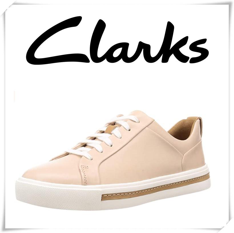 Clarks女士皮制休闲板鞋