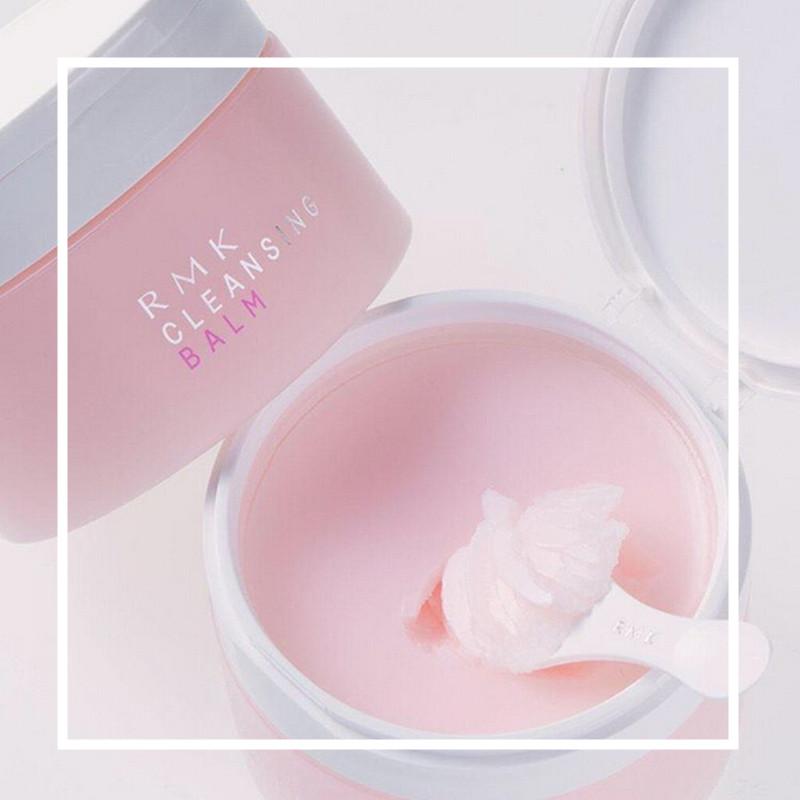 手慢无!不仅是卸妆膏,也是艺术品呀!RMK 玫瑰滋润卸妆膏100g