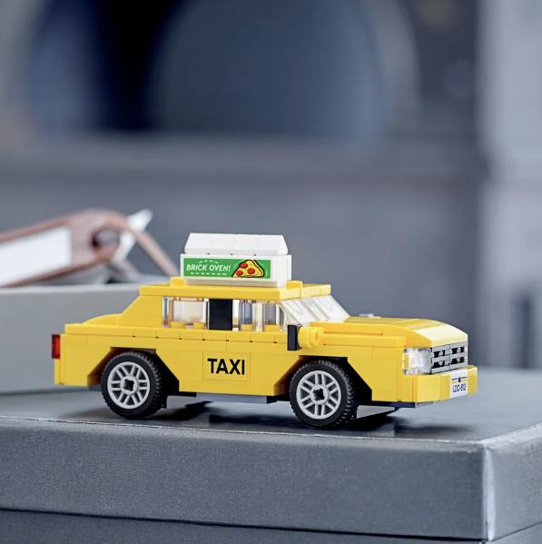 模拟城市~乐高玩具模型城市出租车